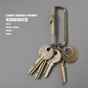 Kendrick ケンドリック CANDY DESIGN & WORKS キャンディデザイン&ワークス キーリング キーホルダー Brass Nickel 真鍮|play-d-play