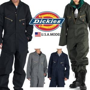 ディッキーズ 長袖 つなぎ DICKIES ツナギ 作業着 S.M.L.XL.2XL 48799 メ...
