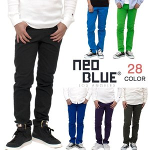 NEO BLUE JEANS カラースキニーパンツ