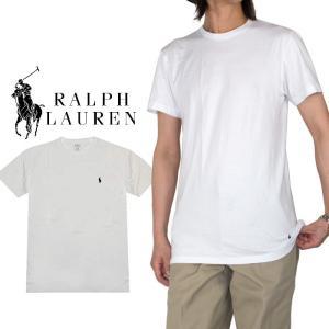 Tシャツ 無地 ラルフローレン RALPH LAUREN メンズ  クルーネック 丸首 おしゃれ メ...