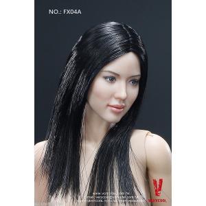新品 1/6 VERYCOOL FX04-A アジアン女性ボディ素体とヘッドセット|playone
