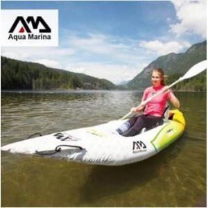 アクアマリーナインフレータブルボート 釣り スポーツ カヤック カヌー ディンギー いかだ アルミパドルポンプシートドロップステッチ積層|playone