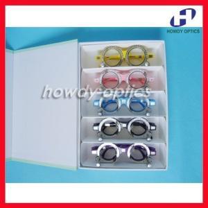 眼科 検眼メガネ 5色 トライアルフレームセット PD52 58 60 62 64 眼鏡 テスト 視力 A1229【領収発行可】 playone