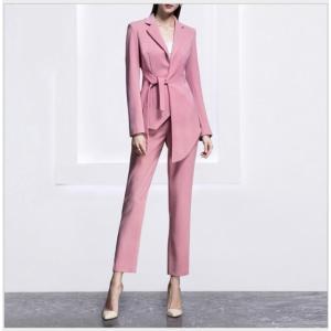 商品名:高品質 2点セット 姫系 スーツ ジャケット+パンツ/スカート レディース フォーマル セッ...