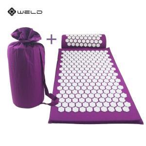 Massage Pillow Cushion Acupressure Mat Shakti Relieve Stress Pain Relax Body Yoga Mat Neck playone