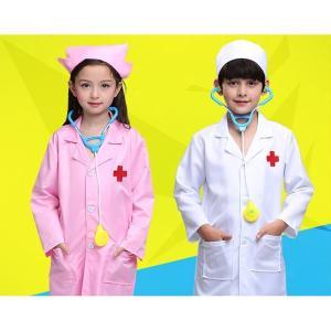 キッズ Doctor コスプレ コスチューム 赤ちゃん ガールズ Nurse ユニフォーム Role Play ハロウィン パーティー Wear Fanc|playone