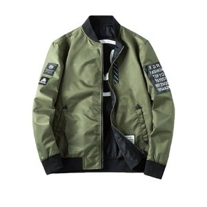 商品名:秋 男性用 メンズ ジャケット ブルゾン リバーシブル 両面 アーミー MA-1 ロゴ アー...