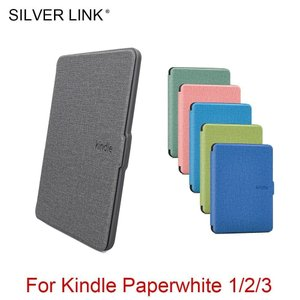 SILVER LINK Kindle ケース Soft Silicon 肌 カバー For Kind...