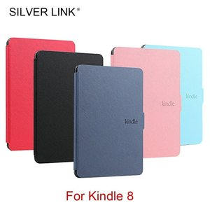 SILVER LINK Kindle 8 E-reader ケース PU Faux 革 カバー Fo...
