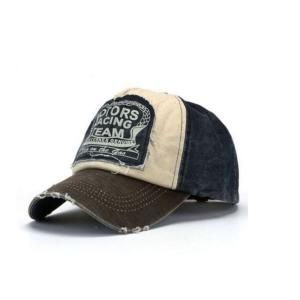 2018 New 兼用 野球 Cap Cotton オートバイ Cap Edge Grinding Do Old Hat j18|playone