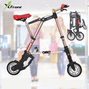 A-bike 男女兼用 10 インチ wheel ミニ ultra light folding bike subway transit vehicles road playone