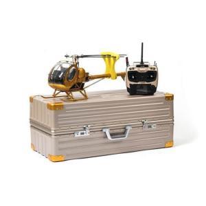 高性能 ヘリコプター 静的航空機モデル Schweizer 300cヒューズ 9ch RC 電動ラジコン リモートコントロール ゴールド|playone