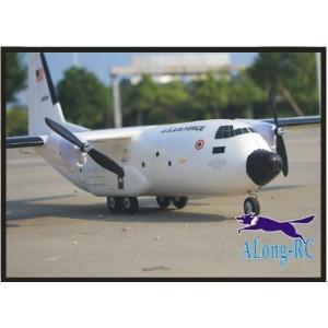 388 RC 飛行機 RC モデル趣味おもちゃ翼幅 1120 ミリメートル C-160 C160 TRANSALL RC 飛行機 (キット【領収発行可】|playone