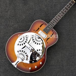 ドブロギター リゾネーターギター 本体 ヴィンテージ 電気 メイプル カエデ デザイン 楽器 特殊|playone