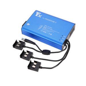4 in 1パラレルパワーハブDJIファントム用のインテリジェントバッテリーチャージャー3標準プロフェッショナルアドバンストSE FPVドローン|playone