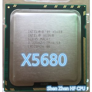 Lntel xeon X5680 5680プロセッサ(3.333 ghz/12メガバイト/6コア/ソ...