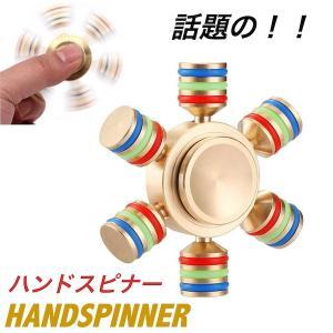 ハンドスピナー 民族 指スピナー Handspinner  六角 ケース付き