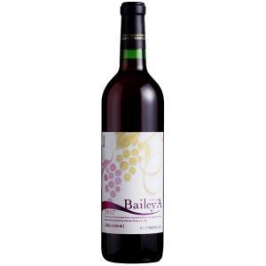 赤ワイン ベリーA モンデ酒造 新酒 2016年  やや甘口 720ml