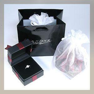 プレゼント梱包(ジュエリーケース きんちゃく 手さげ袋) plejour