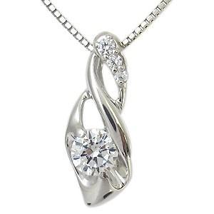 鑑定書付きダイヤモンドネックレス VVSクラス(0.30ct) K18 一粒|plejour