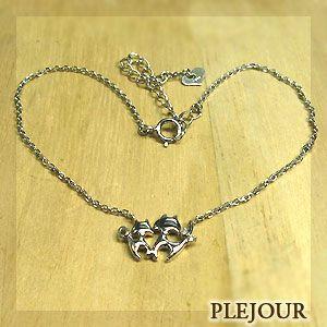 プラチナ アンクレット ブレスレット ダイヤモンド ネコ クリスマス ポイント消化|plejour
