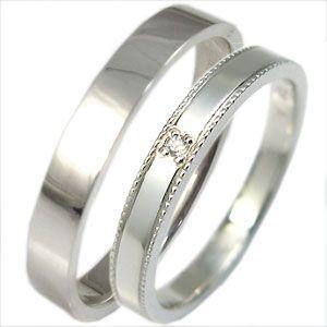 結婚指輪 ペアリング プラチナ ダイヤモンド マリッジリングpt900 plejour