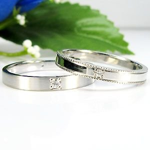 ペアリング K18ゴールド マリッジリング 結婚指輪 安い plejour