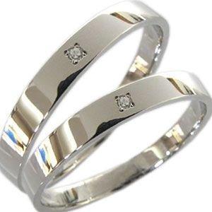 ペアリング K10ゴールド 結婚指輪 安い マリッジリング ダイアモンド