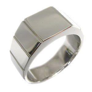 印台リング シルバー 地金 メンズリング 指輪|plejour