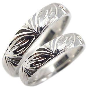 マリッジリング ペアリング ハワイアンジュエリー シルバー リング 結婚指輪 安い|plejour