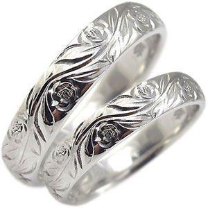 結婚指輪 ペアリング k10 リング ハワイアンジュエリー マリッジリング|plejour