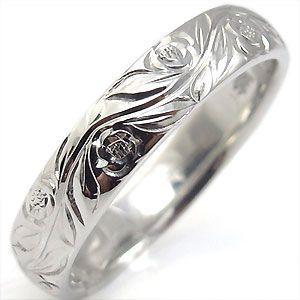 結婚指輪 ペアリング k10 リング ハワイアンジュエリー マリッジリング|plejour|02