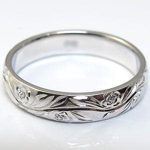 結婚指輪 ペアリング k10 リング ハワイアンジュエリー マリッジリング|plejour|04