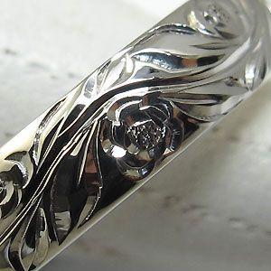 結婚指輪 ペアリング k10 リング ハワイアンジュエリー マリッジリング|plejour|05