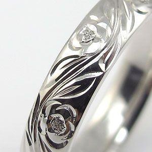結婚指輪 ペアリング k10 リング ハワイアンジュエリー マリッジリング|plejour|06