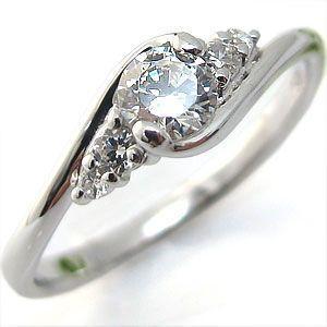 婚約指輪 エンゲージリング プラチナ ダイヤモンド 一粒 リング クリスマス ポイント消化|plejour