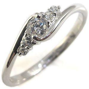 鑑定書付き ダイヤモンド リング エンゲージリング プラチナ 婚約指輪|plejour
