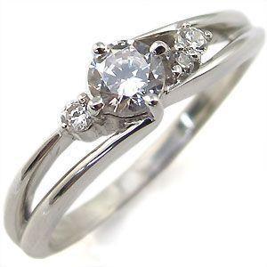 婚約指輪 エンゲージリング プラチナ ダイヤモンド リング プロポーズ用 クリスマス ポイント消化|plejour
