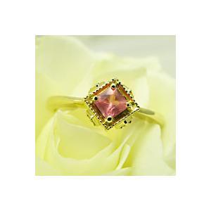 ロードクロサイト インカローズK18YGリング指輪|plejour