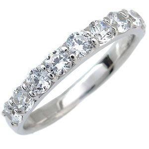 ファランジリング エタニティーリング ダイヤモンド(1.0c...