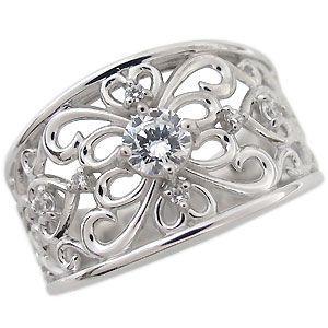エンゲージリング 婚約指輪 指輪 ダイヤモンド リング 0.3ct 4月誕生石 一粒 10金|plejour