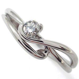 エンゲージリング エレガント ダイヤモンドリング 婚約指輪 K10 プレゼント|plejour