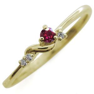 ファランジリング 選べる誕生石 シンプル リング 10金 指輪 ミディリング ピンキーリング 重ね付け|plejour