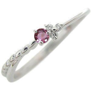 プラチナ ピンキーリング 誕生石 指輪 華奢 ファランジリング 重ね付け クリスマス ポイント消化|plejour