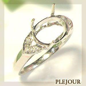 K18ゴールド リング リフォーム 空枠 指輪|plejour