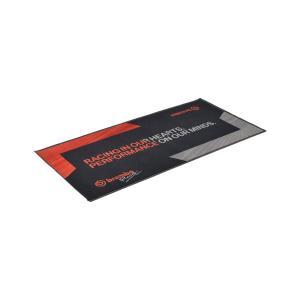 brembo(ブレンボ) レーシングフロアマット ガレージマット メンテナンスマット ブラック レッ...