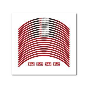 ヨシムラ リムステッカーType-A 17インチ レッド 904-221-1100|plotonlinestore
