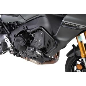 ヘプコ&ベッカー エンジンガード クラッシュパッド付 MT-09 トレーサー TRACER9 GT 5014572 00 01 plotonlinestore