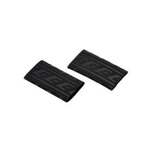 EFFEX (エフェックス) グリップ用 熱収縮保護チューブ (ブラック) 2個入 EGT001