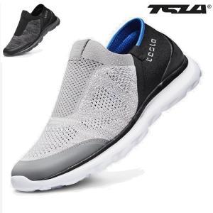 テスラ 超軽量 アーバン スリッポン スニーカー RXシリーズ TESLA RX255-BLK|plum-net